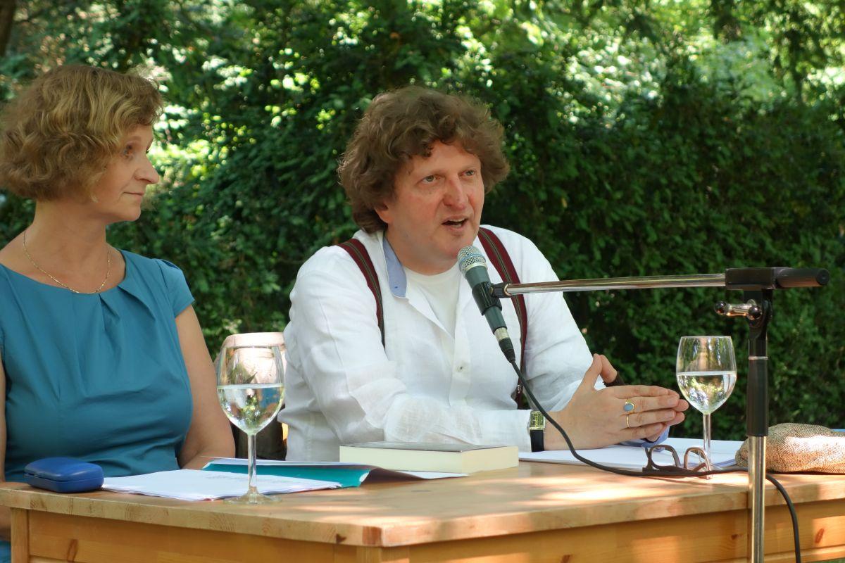 Anton G. Leitner liest am Lousberg