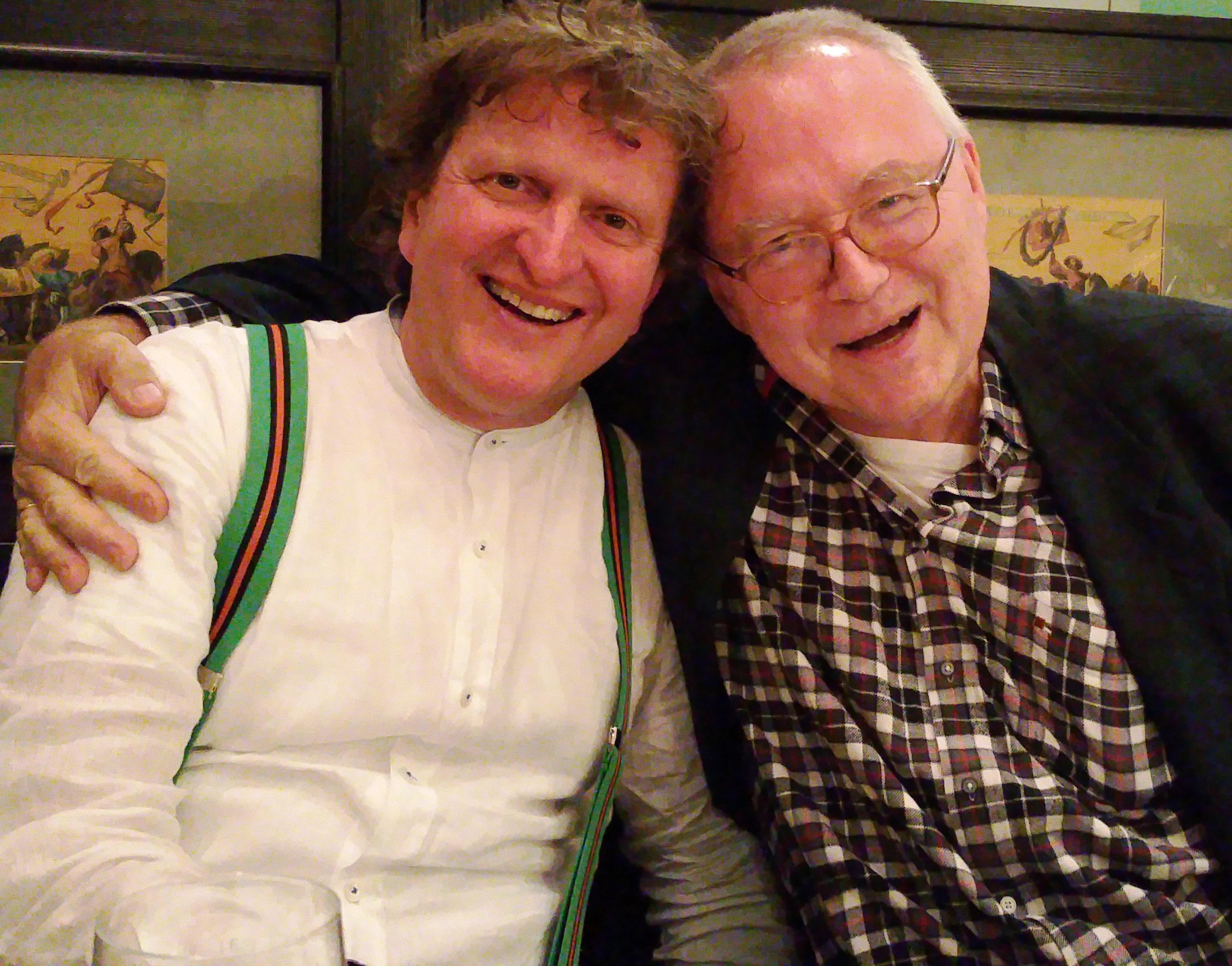 Mit Freibord-Hero (36 Jahre Herausgeber!) Gerhard pflegt GEDICHT-Collega Anton Gerhard die BÖF.