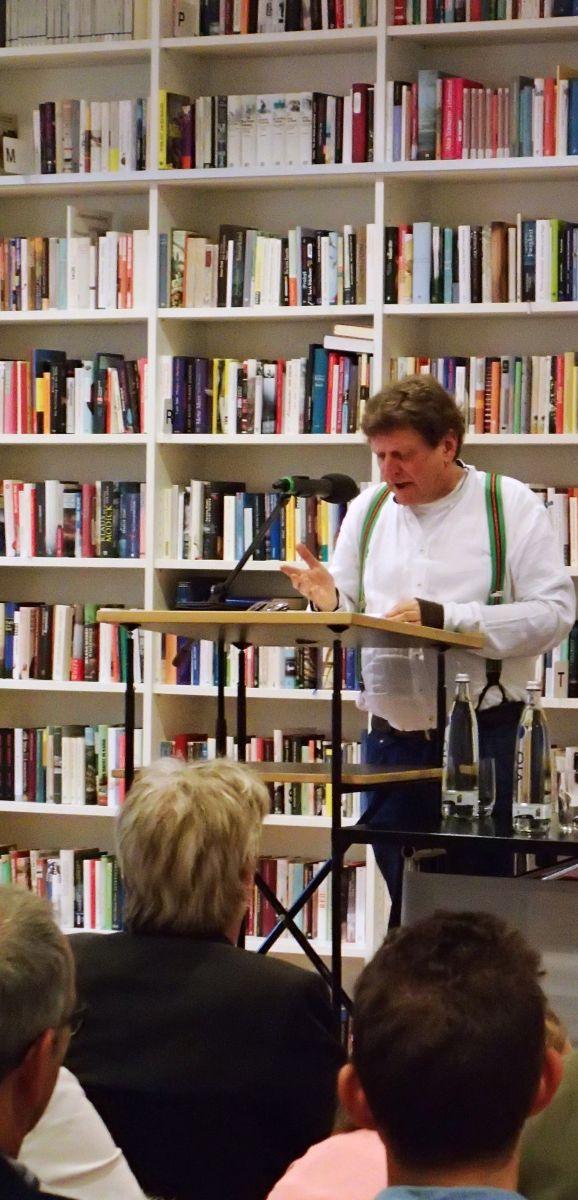 Anton G. Leitner liest