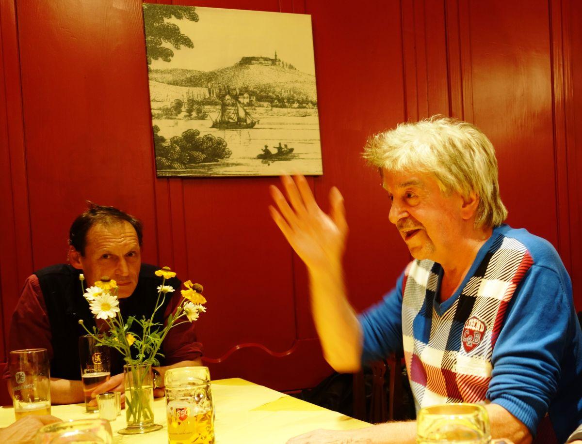 Münchens bester Fotograf Volker Derlath und Popikone Norbert Daum