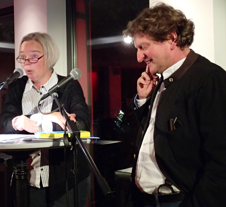 Sabine Zaplin und Anton G. Leitner