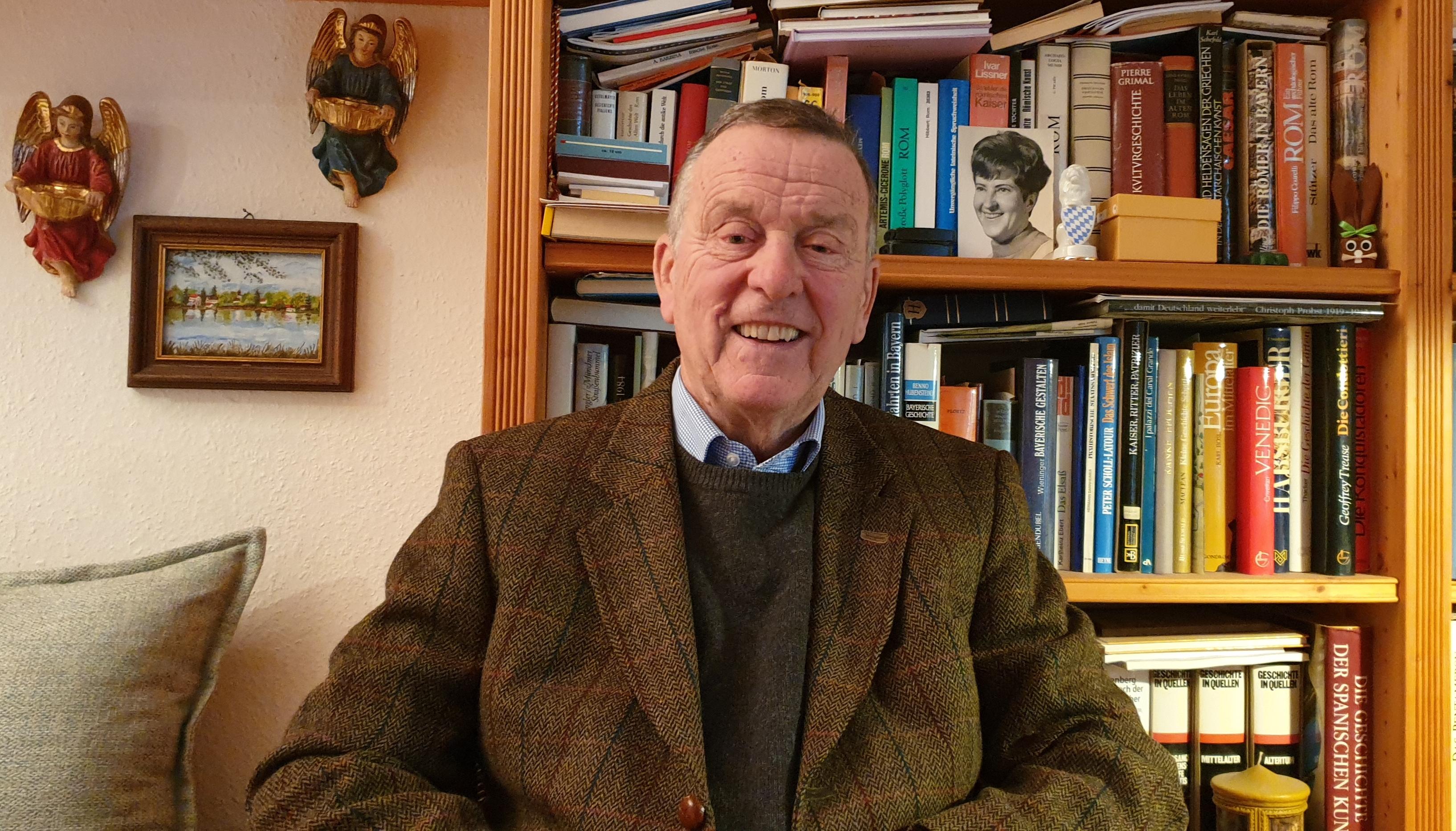 Anton Leitner senior. Foto: Anton G. Leitner